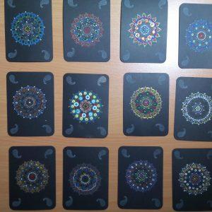 Intercambio ATCs: Mandala Zen
