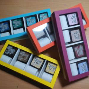 Caja a medida para tintas Mini Distress
