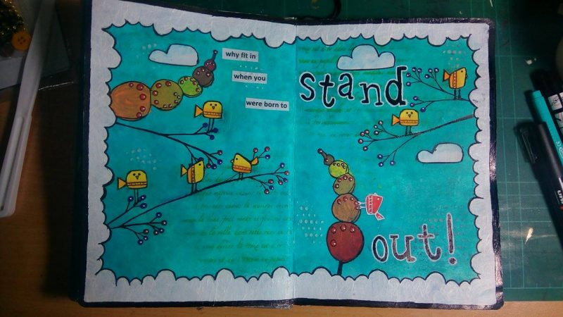 Art Journal: Stand Out