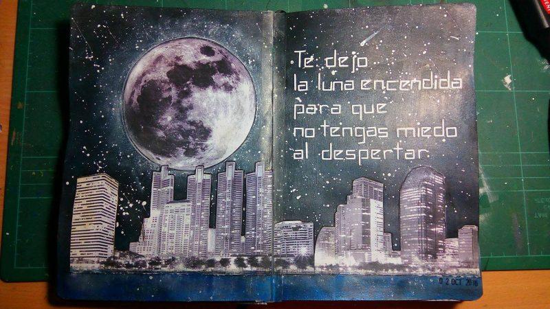 Art Journal Luna