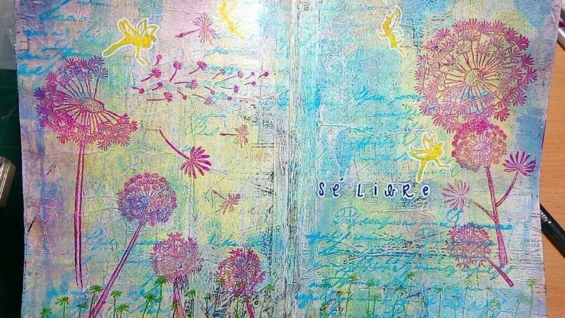 Art Journal: Sé libre