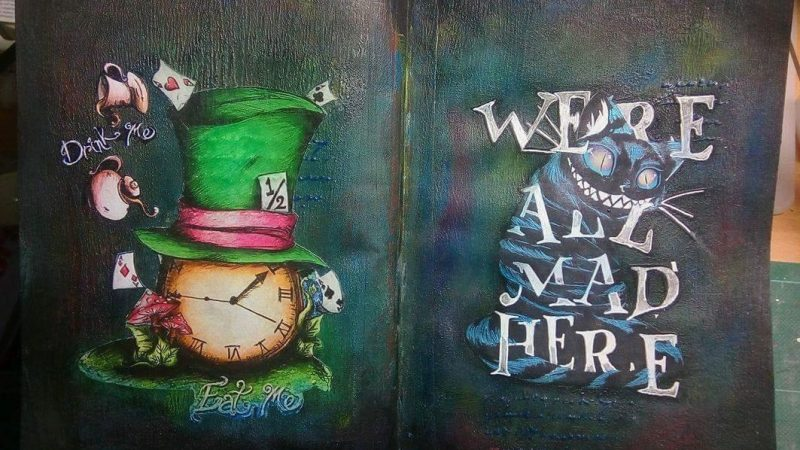 Art Journal: We all mad here