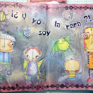 Art Journal: ¿Y yo soy la rara?