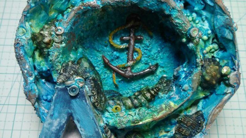 Letra estilo marinero
