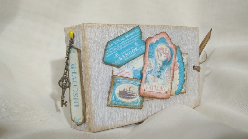 Minialbum de sobres para correo bonito