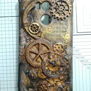 Funda reciclada de móvil