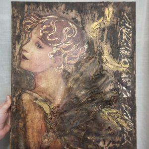 """Canvas """"Fantasía"""" [Reto @Creativas.Unidas Julio'20"""
